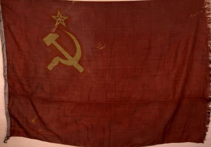 bandera urss guerra civil