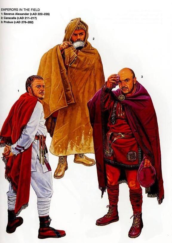 caracalla legiones roma
