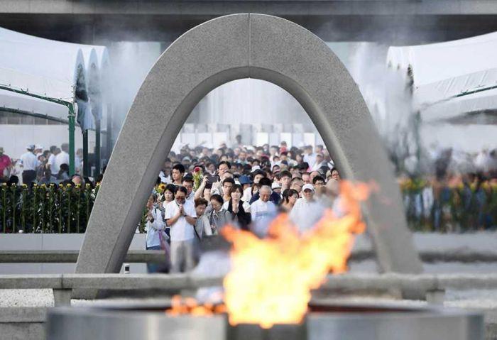 hiroshima fuego de la paz