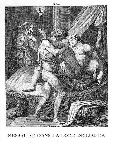 grabado de Agostino Carracci , finales del siglo XVI