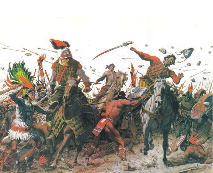 Conquista de los zapotecas