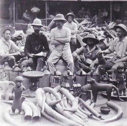 saqueo de benin britanico bronce a Benin