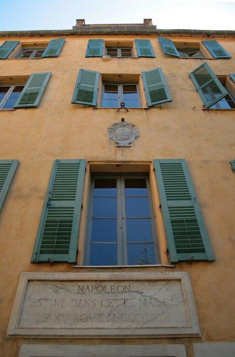 casa natal de napoleon bonaparte