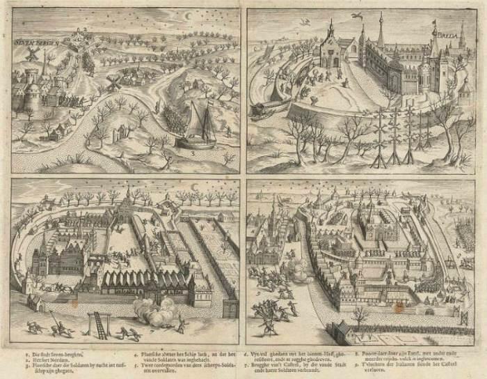 La captura de Breda 1590