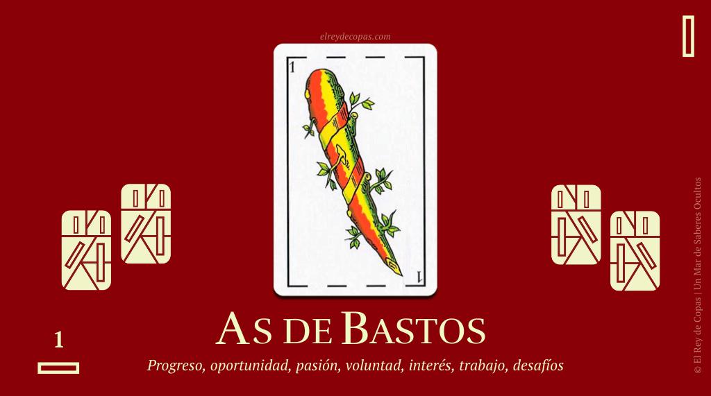 El As de Bastos y su significado en la Baraja Española