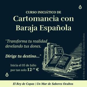 Curso Iniciático de Cartomancia con Baraja Española