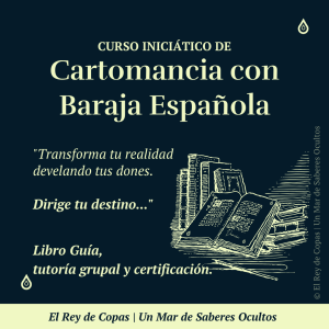 Curso Iniciático de Cartomancia con Baraja Española</br>(Sala Grupal)