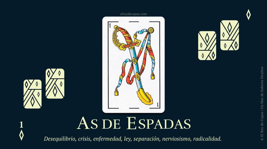 El As de Espadas y su significado en La Baraja Española