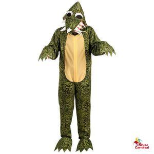 disfraz cocodrilo dinosaurio