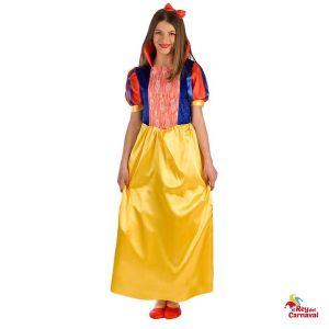 disfraz princesa nieves