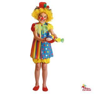 disfraz infantil payasa