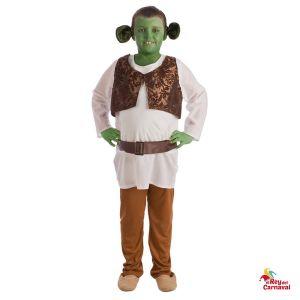 disfraz infantil shrek