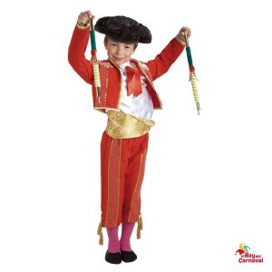 disfraz infantil torero