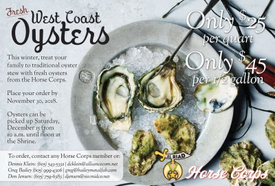 1CL_Horse Corps Oyster ad 2018_102818