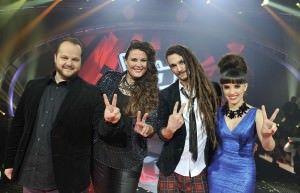 Finalistas La Voz (segunda edición)