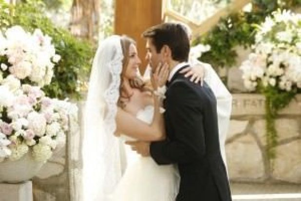 Revenge Wedding Kiss