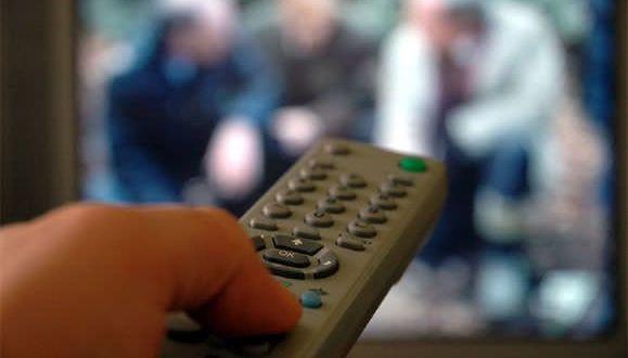 mando televisión