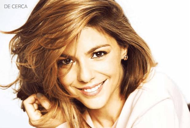 Manuela Velasco en Mujer Hoy
