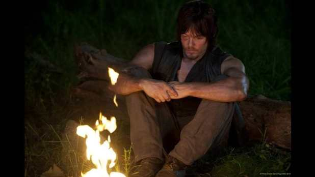 The Walking Dead 4x10 Inmates - Daryl