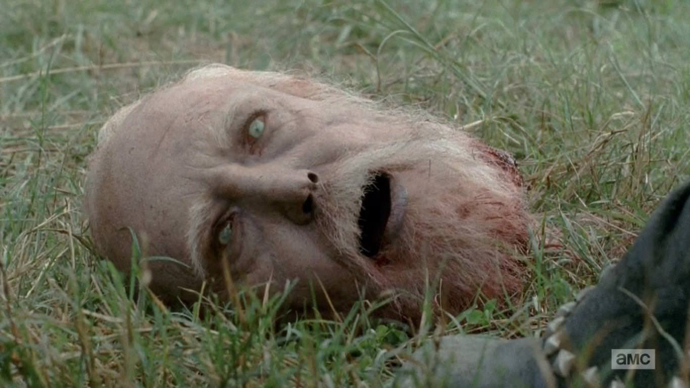 The Walking Dead 4x09 After - Hershell se transforma
