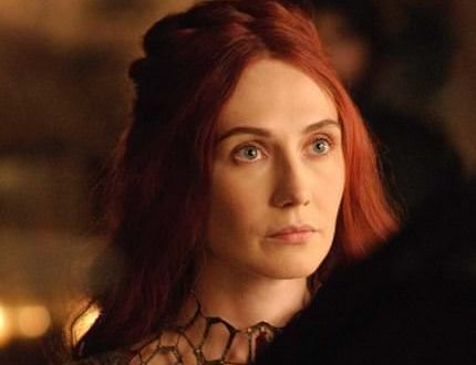 Melisandre en la cuarta temporada de Juego de Tronos