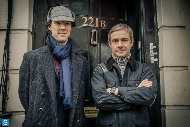 Sherlock and Watson en la temporada 3 de Sherlock