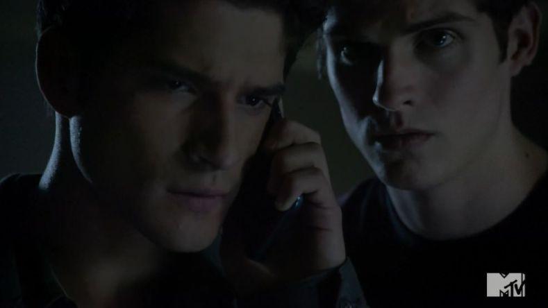 Teen Wolf 3x18 Riddled Scott e Isaac