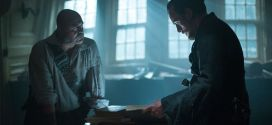 Black Sails 1x08 Flint y Gates