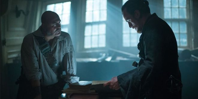 Black Sails 1x08 Flint y Gates
