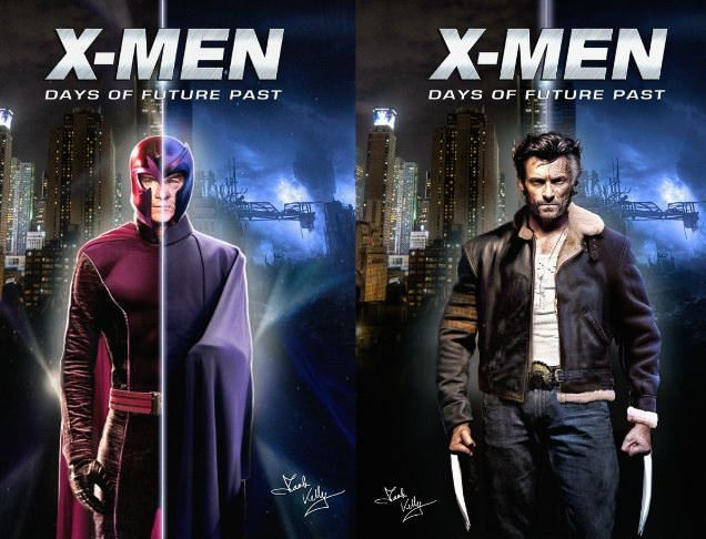 X-Men: Days of Future Past - Magneto y Loberno