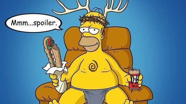 The Simpsons parodian True Detective