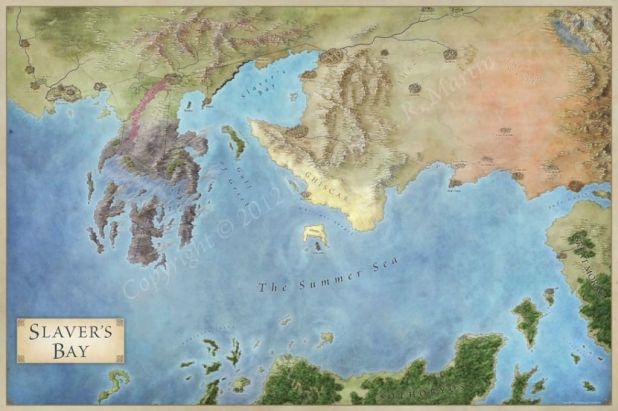 Slaver's Bay map - Bahía de los esclavos