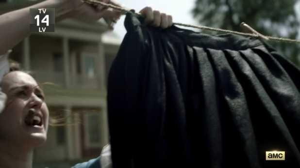 Crítica del capítulo piloto de Turn - Anna coloca las enaguas negras