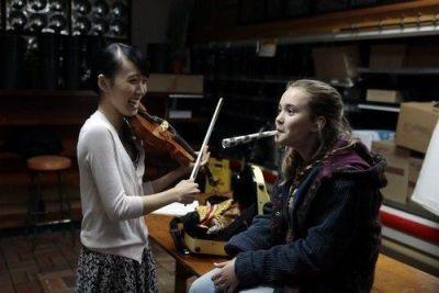 Believe 1x09 - Bo y su nueva amiga violinista