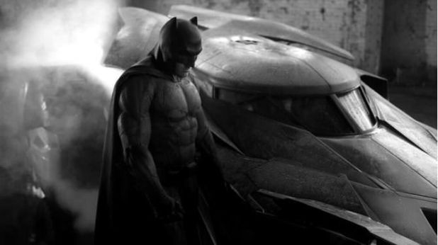El traje de Ben Affleck como Batman