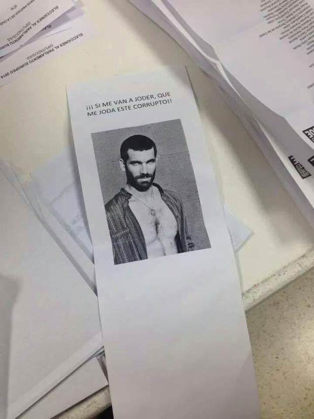 Faruq es votado en las elecciones europeas