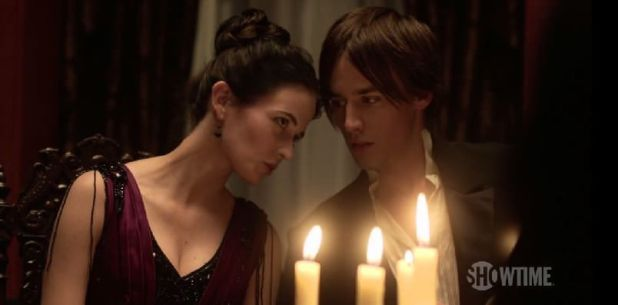 Penny Dreadful - Dorian Grey y Victoria Ives