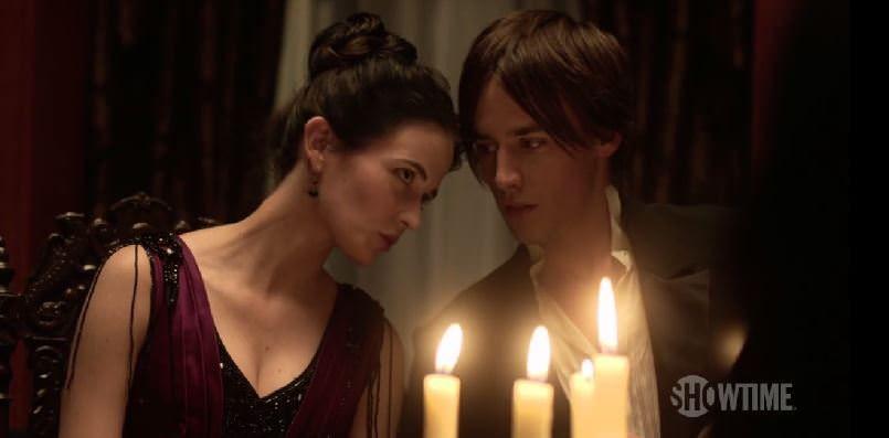 Penny Dreadful - Dorian Grey y Victoria Ives