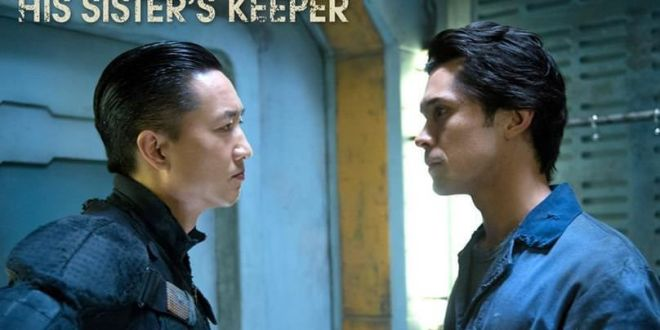 The 100 1x06 His Sister's Keeper - Bellamy