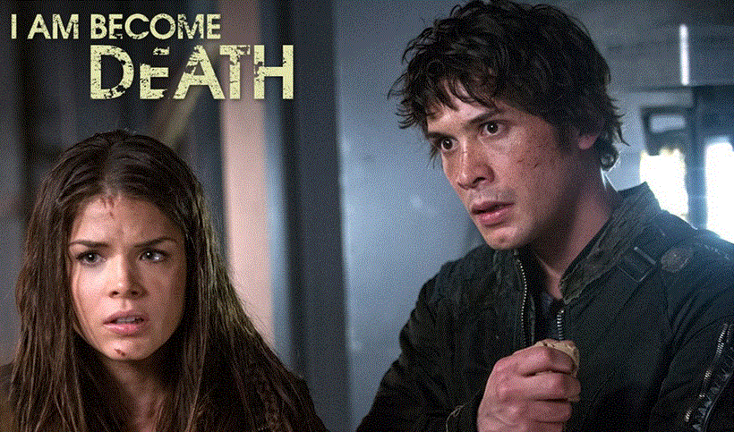 The 100 1x10 I am became Death - Bellamy y Octavia