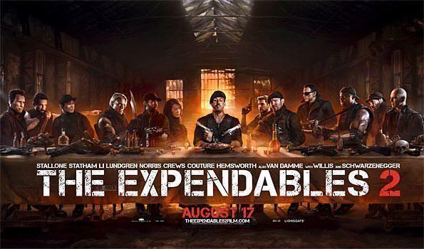 The Expendables 2: Crítica