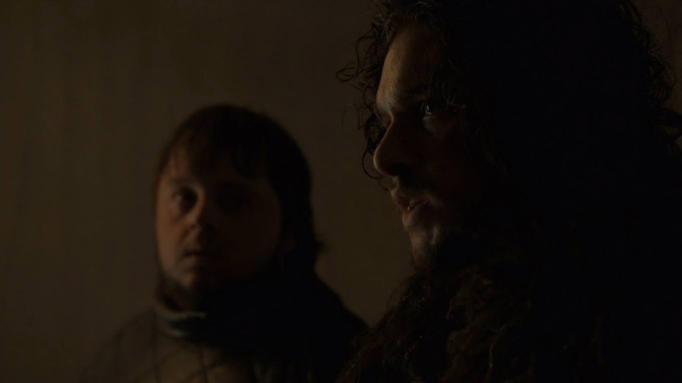 Juego de Tronos 4x09 The Watchers on the Wall - Jon va en busca de Mance