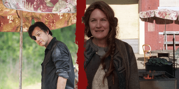 Detalles de la temporada 5 de The Walking Dead - Sombrillas