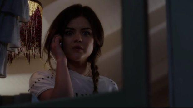Pretty Little Liars 5x02: Aria empieza a perder la cabeza a causa del sentimiento de culpa por la muerta de Shana.