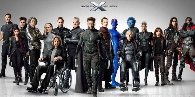 X Men Días del pasado futuro - Todo el reparto