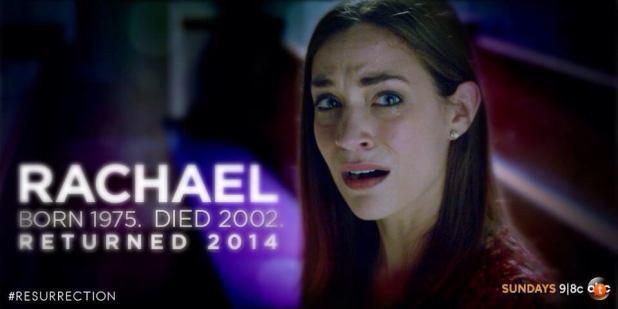 Rachel de la temporada 1 de Resurrection