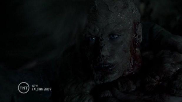 Falling SKies 4x04: Jeannie muere tras ser convertida en una bestia y confirmar que los espheni están mutando a los humanos a su antojo.