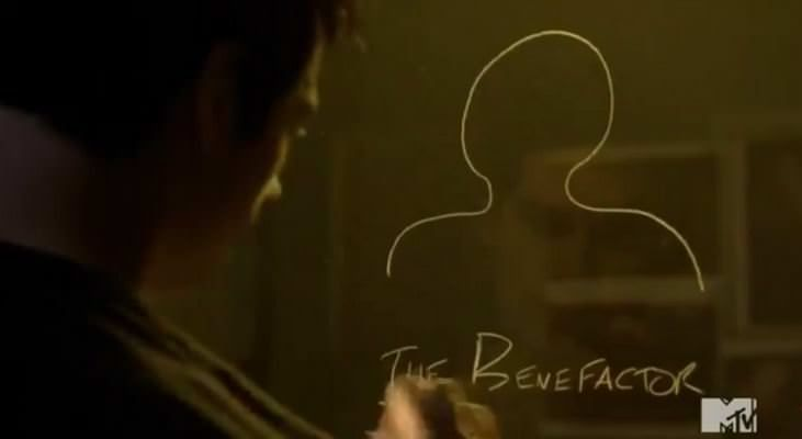 Teen Wolf 4x05 IED - Stiles y The Benefactor