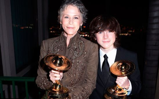 The Walking Dead ganadora en los Saturn Awards 2014