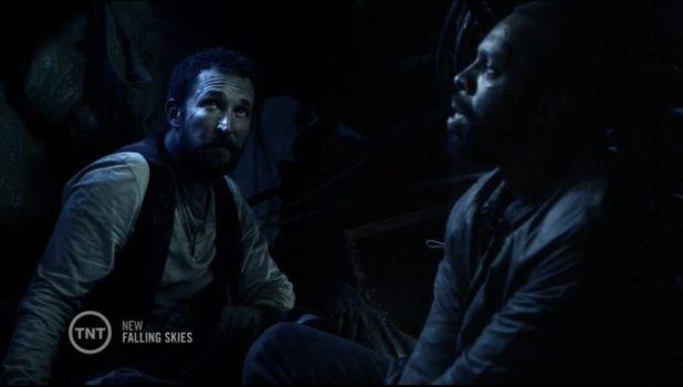 Falling Skies 4x08: Con la explosión de la bomba Dingaan recupera un trauma del pasado que profundiza en su personaje pero no interesa.